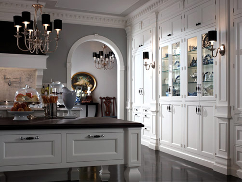 Designs unlimited provides custom kitchen design in for Georgian style kitchen designs